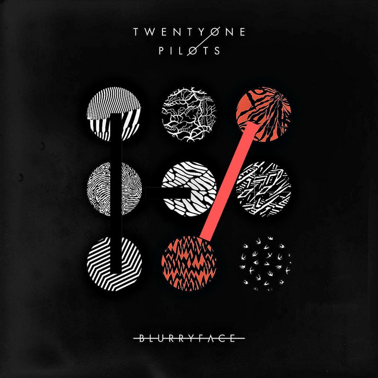 Blurryface, courtesy of Fueled By Ramen