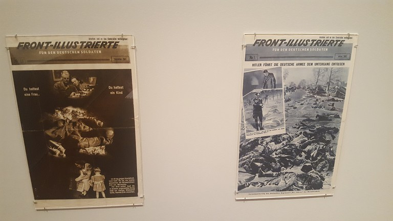 Covers of Front-Illustrierte, designed by Zhitomirsky