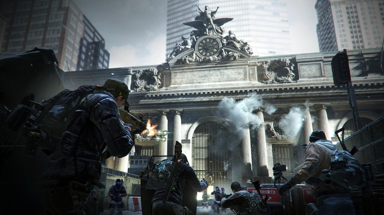 Grand Central Station in Tom Clancy's The Division   © Xbox
