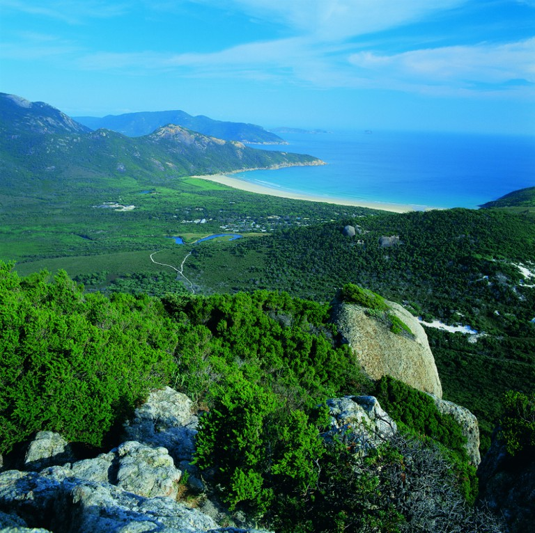 Mount Bishop at Wilsons Promontory | Courtesy of Tourism Victoria © Gavin Hansford