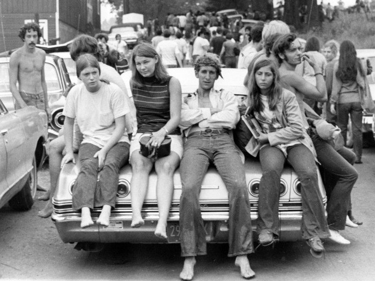 Hippies © Ric Manning/Wikipedia