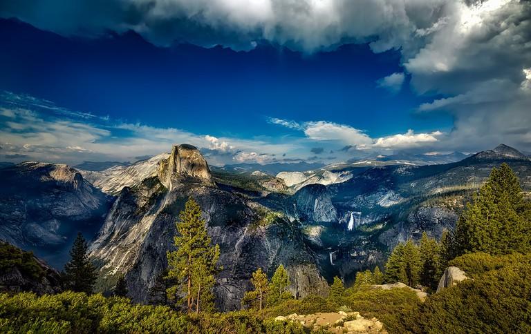 Glacier Point, Yosemite National Park | Public Domain/Pixabay