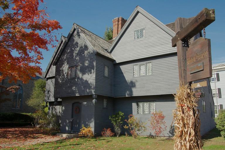 Witch House, Salem   © massmatt/Flickr