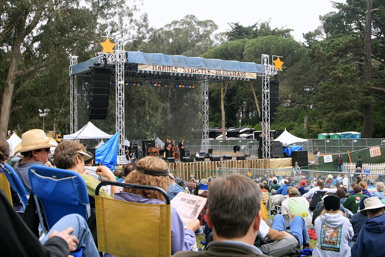Hardly Strictly Bluegrass © Grey3k/Wikipedia