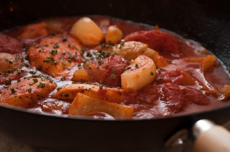 Tomato bredie