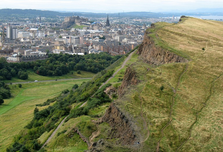 View From Arthur's Seat | © Spencer Means/Flickr