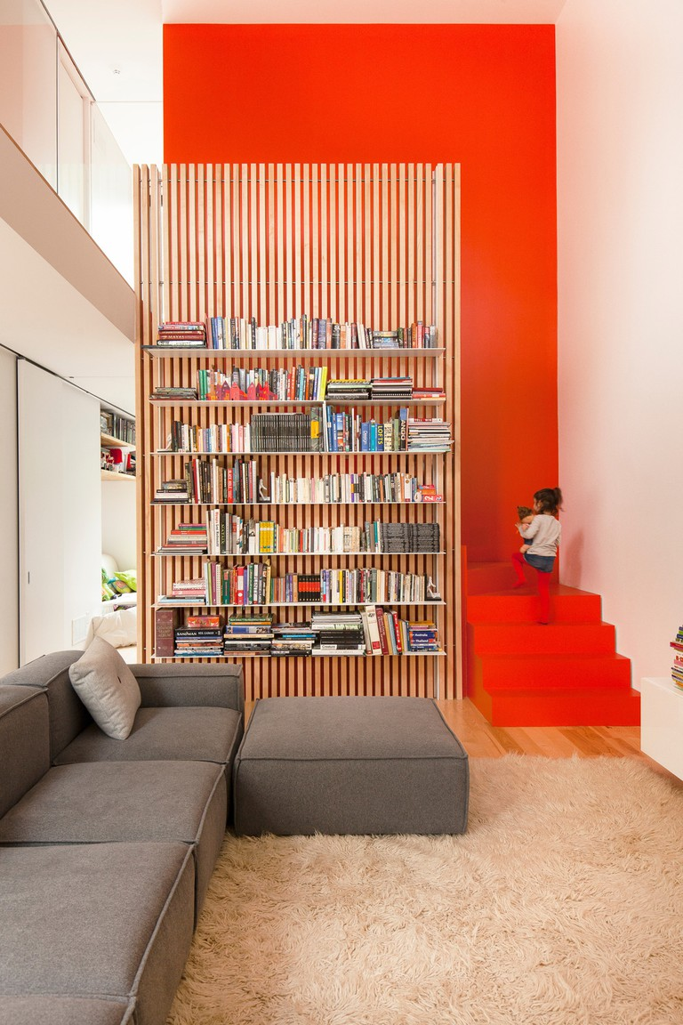 La Shed Architecture designed this bookcase