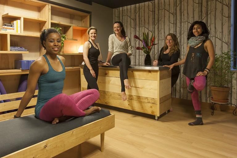 Bottom Line Yoga studio, courtesy of Bottom Line Yoga