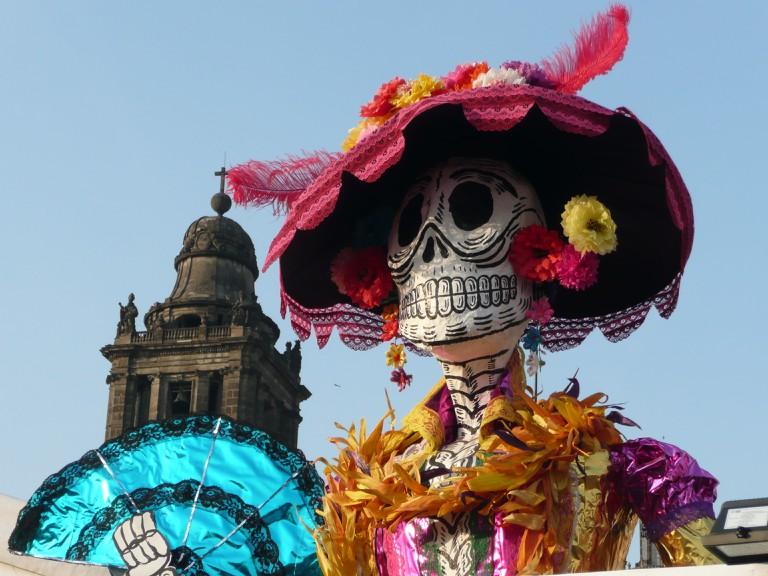 The Zócalo's Catrina Festival | © Randal Sheppard/Flickr