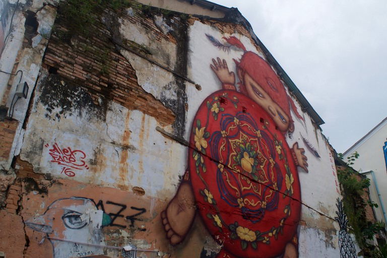 Street art in Phuket Town | © Courtesy of Kelly Iverson