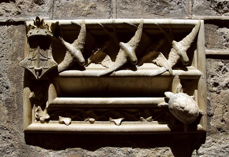 A hidden letter box in the Gothic quarter | © SBA73