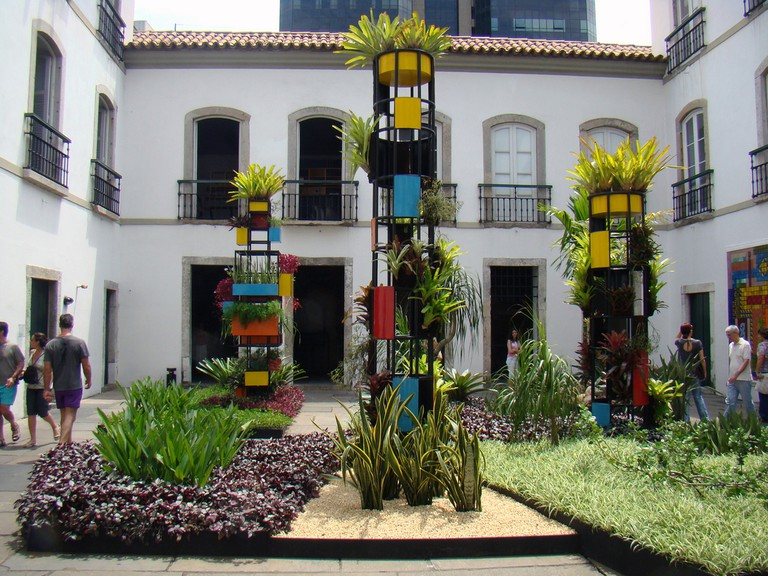 The courtyard now as a cultural center |© Rodrigo Soldon/Flickr