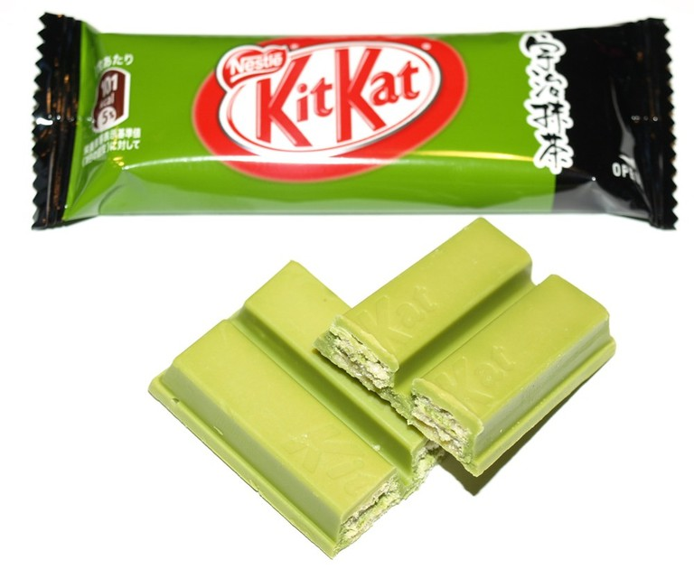 Uji green tea KitKat | © Bodo/Flickr