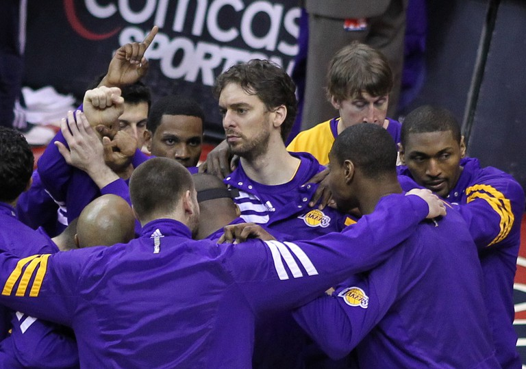 Pau Gasol with the Lakers | © Keith Allison