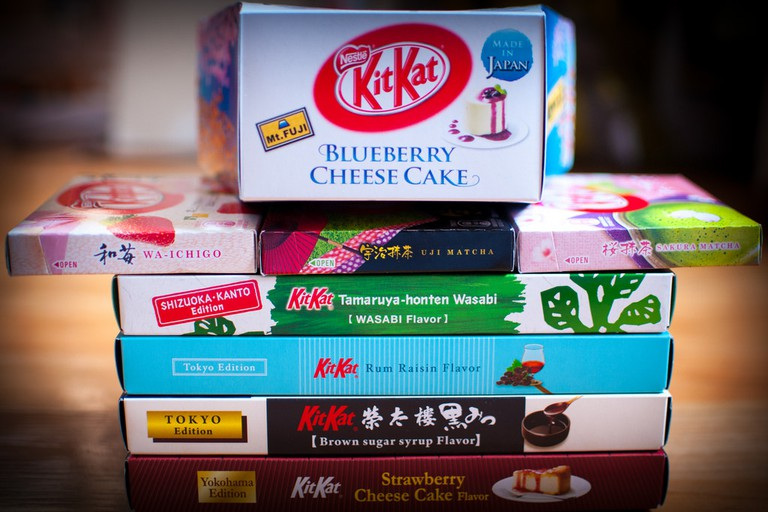 Wide variety of KitKat | © Jordi Sanchez Teruel/Flickr