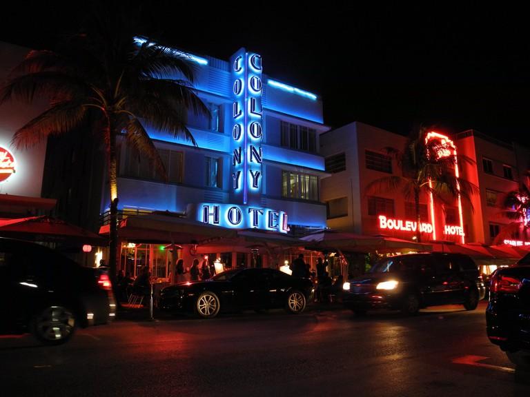 The Colony Hotel on Ocean Drive is a Miami Beach landmark | Courtesy of Marcus/Flickr