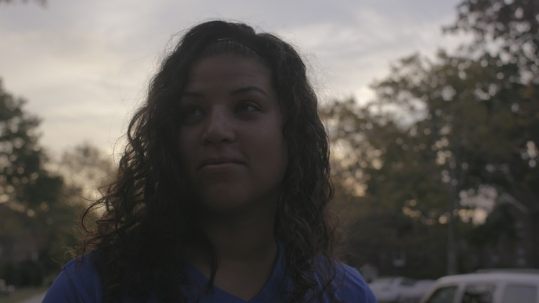 Aja Carter said while training has been positive, there have been moments of self-doubt. | © Drew English