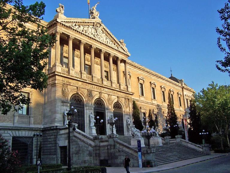 Biblioteca Nacional de España   ©BienesdeInterésCultural