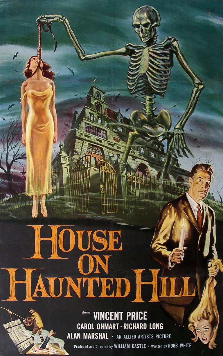 'House on Haunted Hill' poster   © Allied Artists
