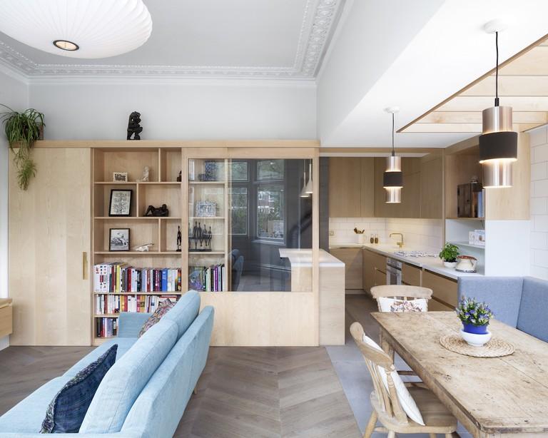 Open-plan space