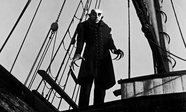 Max Schreck in 'Nosferatu'   © Film Arts Guild