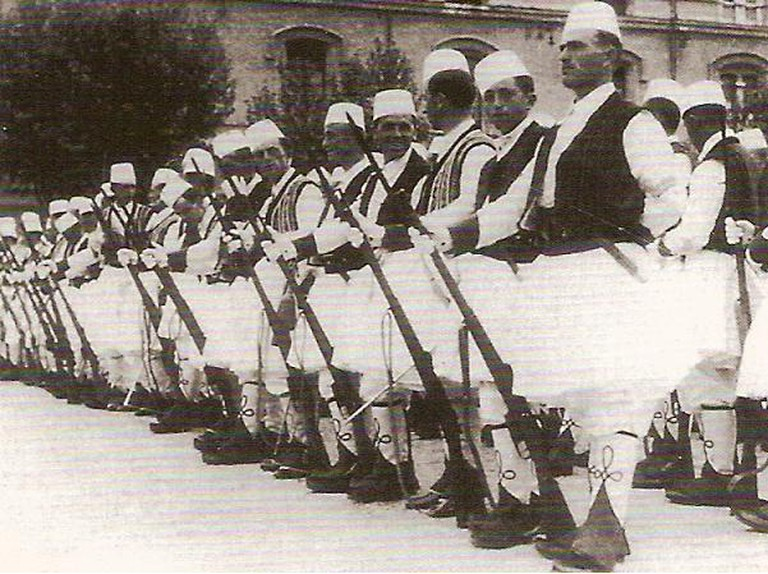 Royal Guard of Albania |© Author Unknown/WikiCommons