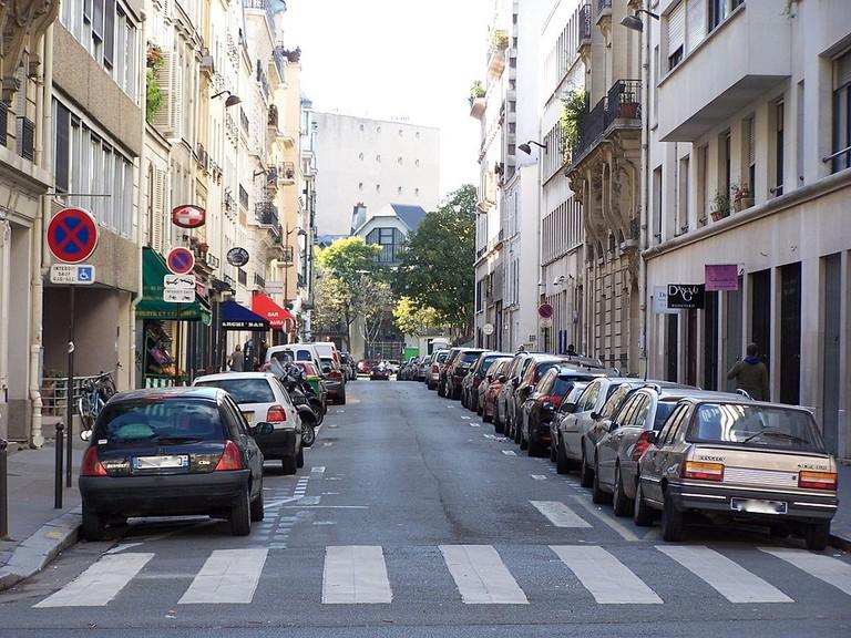 Rue Campagne-Première in Paris │© LPLT