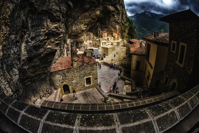 Sumela Monastery ©Okyay / Shutterstock