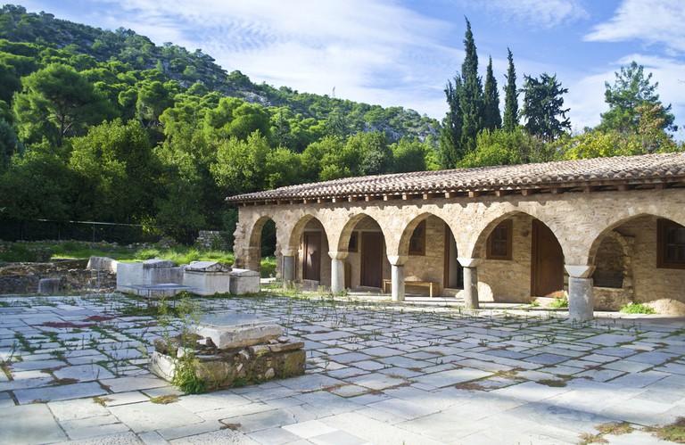 Monasteries of Daphni, Hosios Loukas and Nea Moni of Chios ©Shutterstock