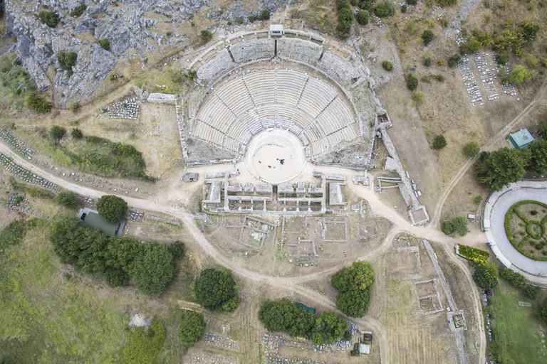 Ancient Site of Philippi, Northern Greece © Nicolas Economou / Shutterstock