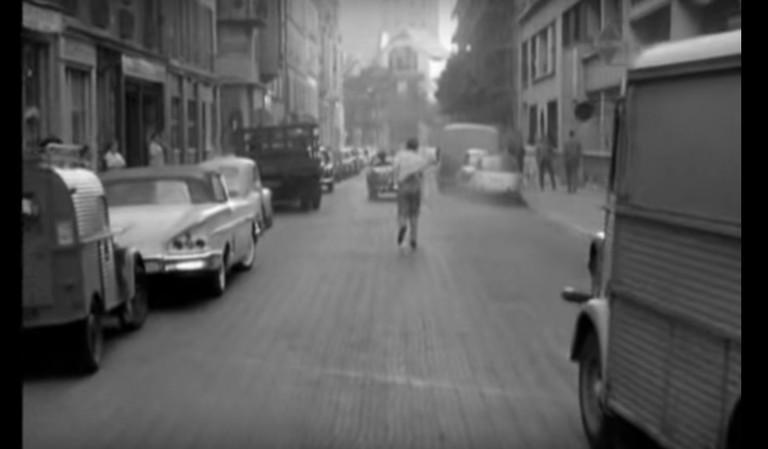 Still from A bout de souffle by Jean-Luc Godard (1960)