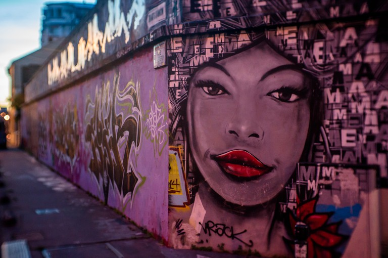 Street art in Montreuil │© Guillaume Flament