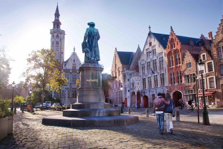 Jan Van Eyck Square   © Jan D'Hondt / courtesy of Toerisme Brugge
