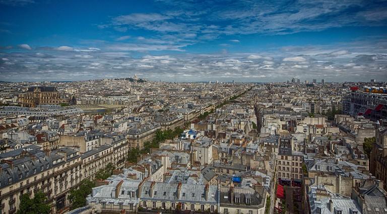 View from the Tour Saint Jacques, adjacent to the Théatre de la Ville │© Claude Attard