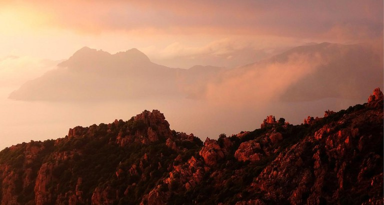 View of the Calanche de Piana and Golfe de Porto in Corsica │© photophilde