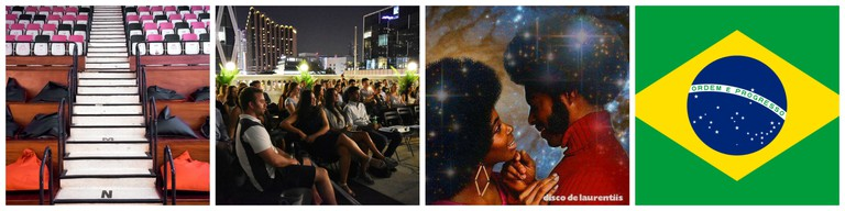 Courtesy of the Projector | Courtesy of The Hive & Singapore Open Air Cinema Club | © Disco de Laurentiis | © WikiCommons