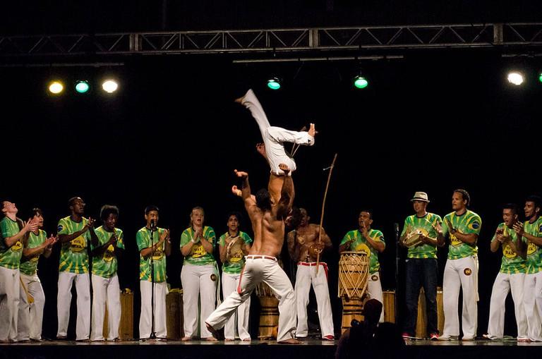 Capoeira jumps |© Ccyyrree/WikiCommons