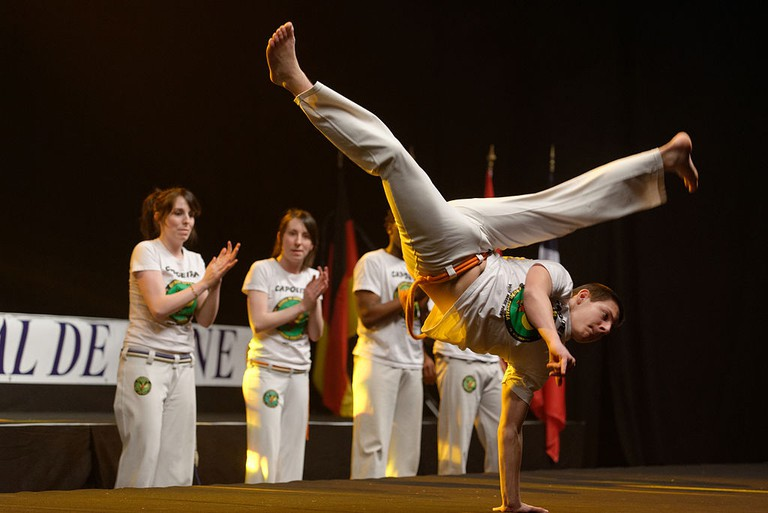 Capoeira master |© Marie-Lan Nguyen/WikiCommons