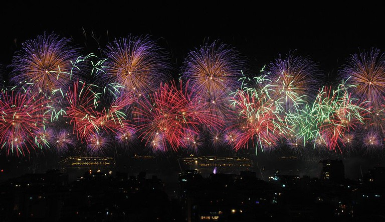 Rio's firework display  © Leandro Neumann Ciuffo/WikiCommons