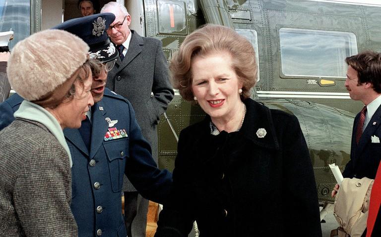 Margaret Thatcher | © Williams, U.S. Military/WIkiCommons