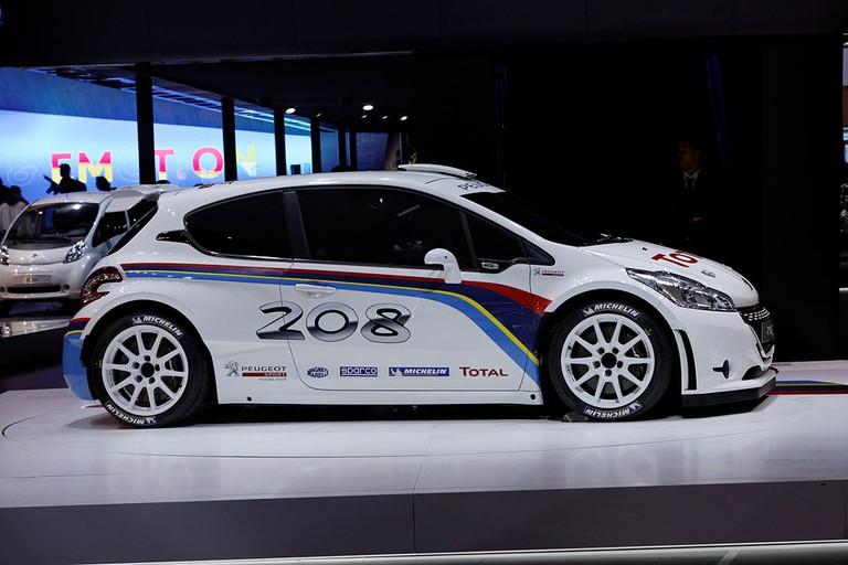 A Peugeot 208 R5 at the Mondial de L'automobile de Paris in 2012 | WikiCommons