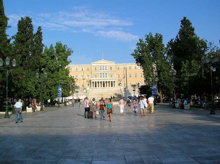 Syntagma, Athens | © Everlind/WikiCommons