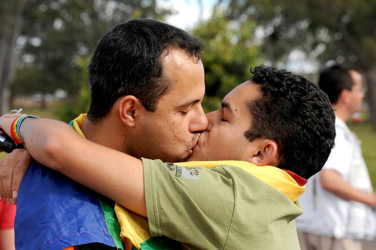 Gay intimacy is tolerated and generally accepted in Rio |public domain/WikiCommons