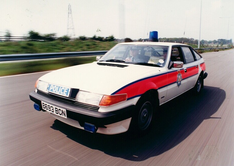 West Midlands Police Rover SD 1 Traffic Car c.1985   © West Midlands Police/Wikicommons