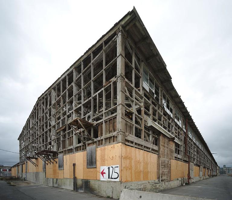 Shipyard construction © Dllu/Wikipedia