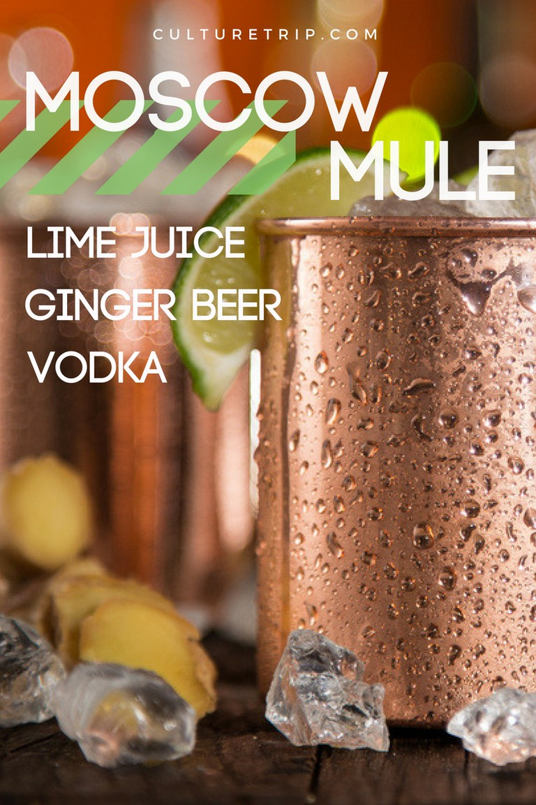 Moscow Mule, 15 3-Ingredients Cocktails
