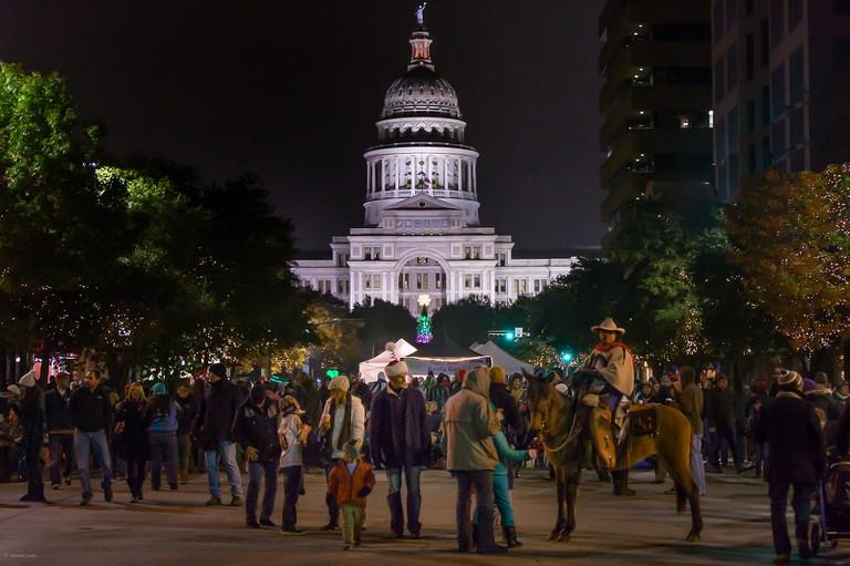 Texas Capitol Tree Lighting © Earl McGehee/Flickr