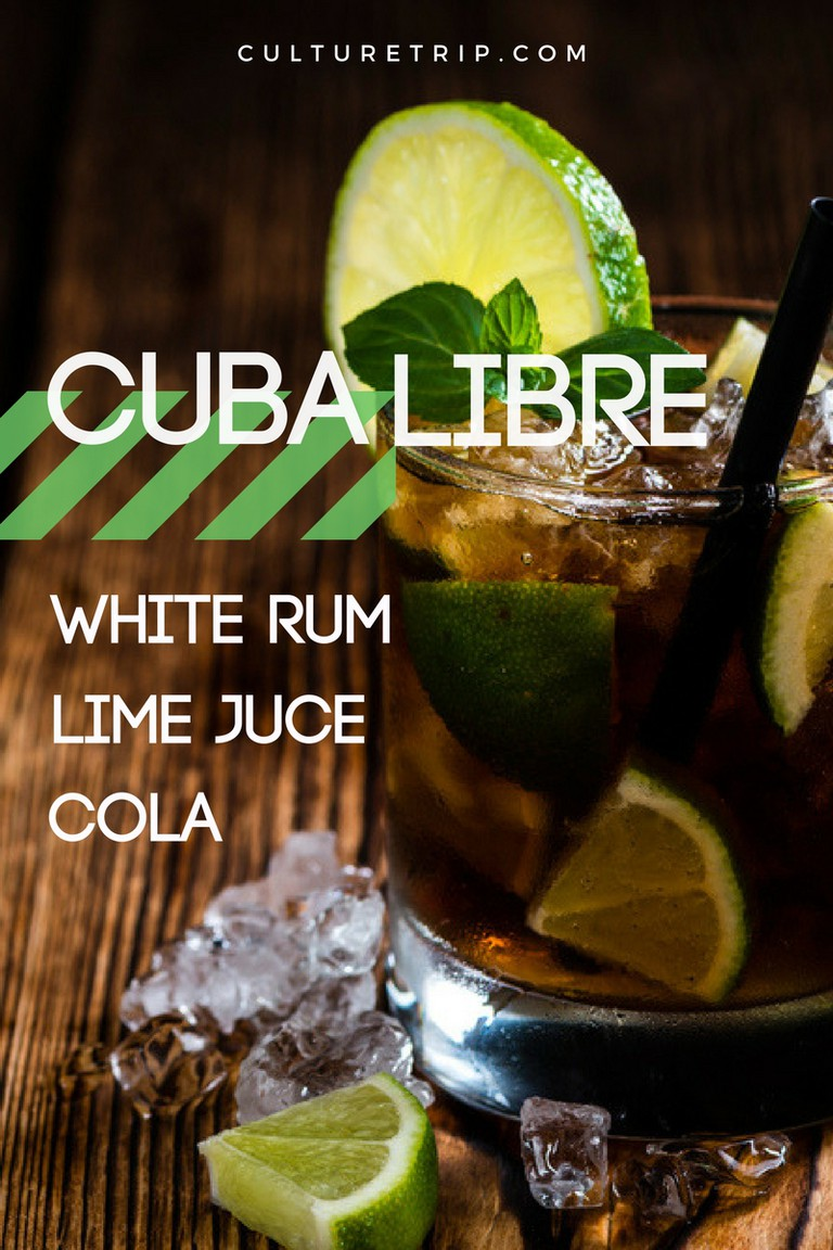 Cuba Libre, 15 3-Ingredients Cocktails