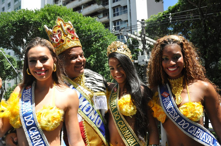 Queen and Princesses of Carnival |© Turismo Bahia/Flickr