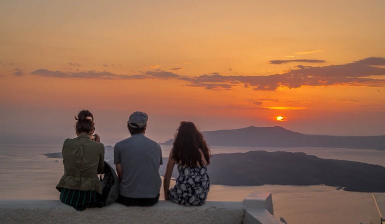 Sunset in Santorini | © Gabriela Fab/Flickr